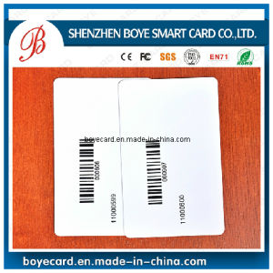 Printable Blank Plastic Barcode Card pictures & photos