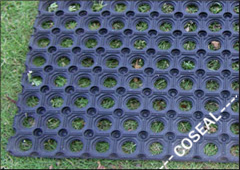 Two Colors of Cr (Neoprene) Rubber Mat for Flooring pictures & photos