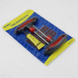 Useful 8in 1 Wheel Car Bicycle Tubeless Tire Repairing Kit Tool Set pictures & photos