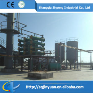 New Design Jinpeng Continuous Used Motor Oil Recycling Machines pictures & photos