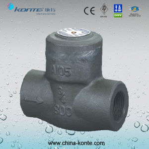 Forged Threaded Check Valve From Wenzhou China pictures & photos