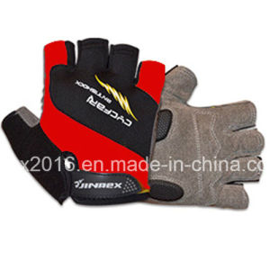 Cycling Half Finger Sports Glove pictures & photos