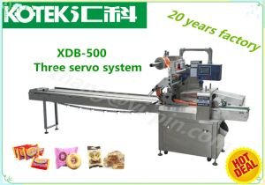 High Speed Horizontal Flow Small Bread Packing Equipment pictures & photos