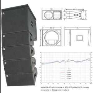 Cvr PRO Line Array Sub-Bass System W-82b/W-15bp pictures & photos