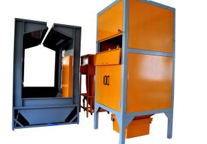 Cyclone Powder Coating Booth pictures & photos