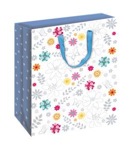 Flower Gift Paper Bag (BS-008)