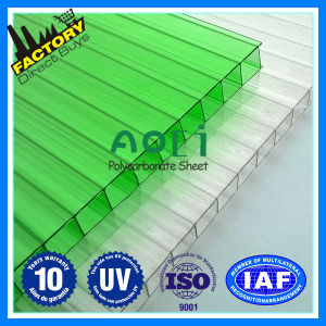 Colorful Multiwall Polycarbonate Sheet pictures & photos