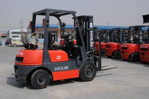 2.5t LPG & Gasoline Forklifts pictures & photos