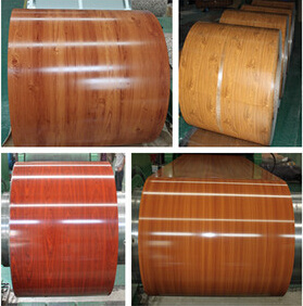Quality Wooden Pattern Pre-Painted Color Steel Coil pictures & photos
