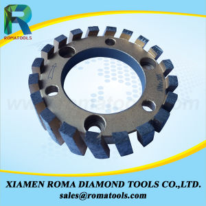"Romatools Diamond Milling Tools of 4"" CNC Stubbing Wheels pictures & photos"