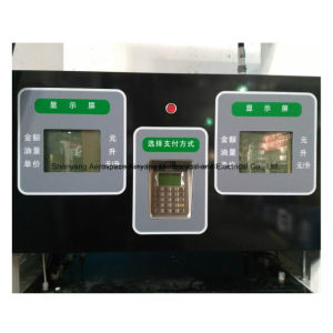 Fuel Dispenser of 2 Nozzles in Front and 4 LCD Display pictures & photos
