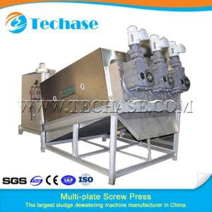 Multi-Plate Screw Press Sewage Treatment Device for Water Purification Industry Better Than Belt Press pictures & photos