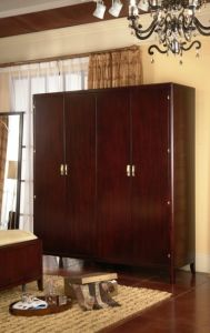 Hotel Bedroom Furniture Sets/Star Hotel Guest Room Wardrobe (GLW-001) pictures & photos