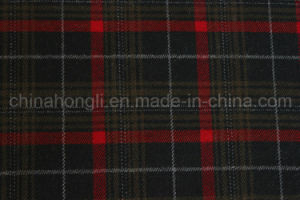 Poly/Rayon Plaid Fabric, Yarn Dyed, 210GSM pictures & photos