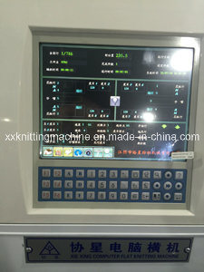 Collar Flat Knitting Loom with Color Monitor pictures & photos