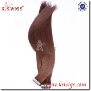 Top Quality Tape Hair Extension Brazilian Remy Hair Extension pictures & photos