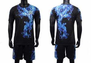 Sport Sleeve Jersey Cool Dry Full Soccer Uniform pictures & photos