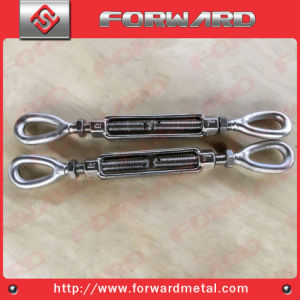Stainless Steel T316 Droped Forged Us Turnbuckle Eye and Eye pictures & photos