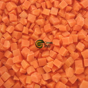 New Crop IQF Frozen Carrot Crinkle/Dices Vegetables
