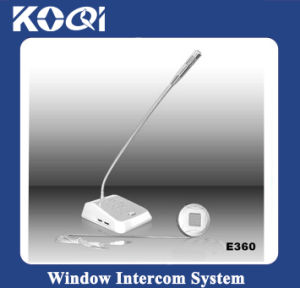 Clear Voice Two Way Office Window Intercom with CE pictures & photos