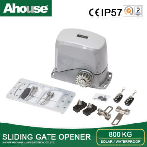 Ahouse CE Approved DC 24V Automatic Solar & Electric Supply 800kg Sliding Gate Opener (SD)