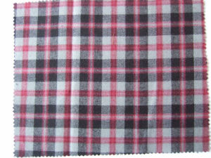 Wool Cotton Shirt Fabric (12C001-1)