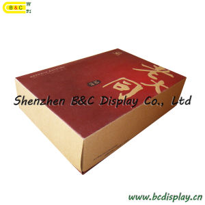 Cracker Box, Food Package Box, Brown Paper, Kraft Paper, Cowhide Paper, Vellum Box, Gift Box (B&C-I023) pictures & photos