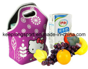 Full Colors Waterproof Neoprene Lunch Bag, Lunch Cooler Bag pictures & photos