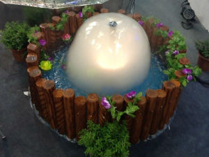Mini Cascade Fountain and Resin Indoor Water Fountain pictures & photos