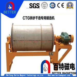 ISO9001 Ctg Dry/Iron/Drum Magnetic Separator for Magneticlean Iron Ore/Weathered Sand/Sand/Ant Volcano Rocks pictures & photos