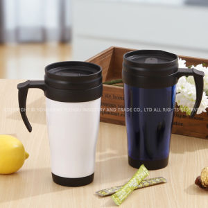 Double Walls Plastic Promotional Gift Mug pictures & photos