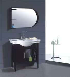 Solid Wood Bathroom Vanity (B-613) pictures & photos