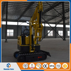 China 0.8 Ton Mini Excavator Small Compact Crawler Excavator Price with Ce pictures & photos
