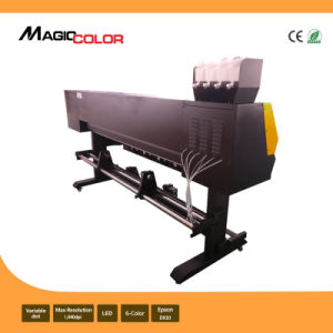 Mcjet 1.9m Eco Solvent Digital Vinyl Printing Machine 2 Printheads of Epson Dx10 pictures & photos