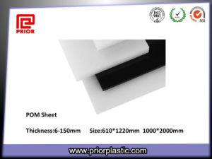6-150mm Thickness Acetal Board with Black and White Color pictures & photos