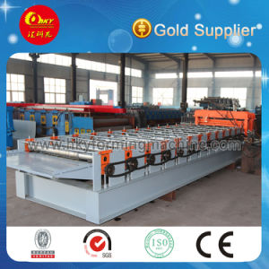 Automatic Roof Panel Glazed Corrugated Roof Tile Making Machinery pictures & photos