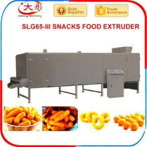 Corn Puff Snack Food Machine/Corn Curls/Cheese Ball Process Machinery pictures & photos