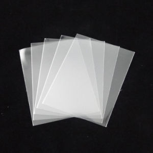100mic Top Quality Clear Card Sleeves for Game pictures & photos