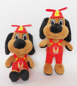 High Quality Custom Soft Mascot Doll Company Logo Soft Toy Mascot Doll pictures & photos