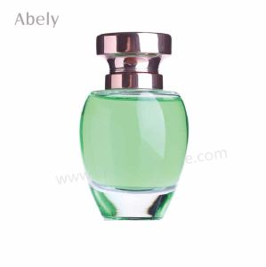 Oval Glass Perfume Bottle for Summer Perfume Spray pictures & photos