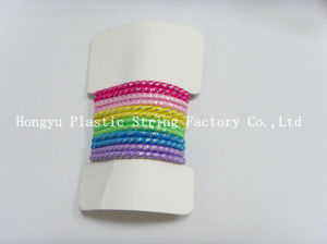 Factory Shinning 5.0mm Elastic Hair Circle pictures & photos