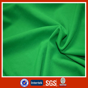 Clothing Used Rib Knitted Polyester Fabric pictures & photos