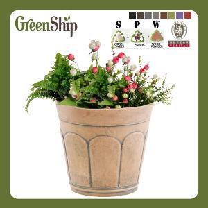 Mini Plastic Flower Pot Wholesale AAC16---Green Ship
