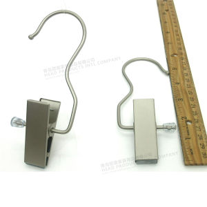 "6"" Large Clips Matt Metal Clothes Hanger, Metal Clips Hanger for Boots pictures & photos"