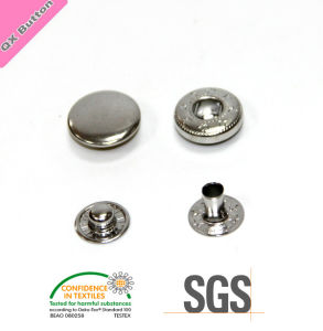 Brass Button Custom Snap Fastener on Jacket pictures & photos