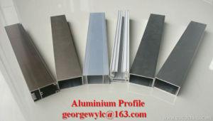 PVC, PA66, Heat Blocking Insulation Part Aluminium Extrusion Profile Aluminum Profile for Window Door Cabinet pictures & photos