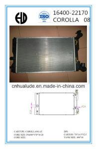 Aluminum Brazed Auto Radiator for Toyota Corolla Oe: 16400-22170 pictures & photos