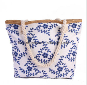 Fashion New Handmade Handmade Handbags Maim Rope Beach Bag Large Capacity Mummy Bag New Shoulder Bag pictures & photos