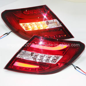 W204 C200 LED Rear Light for Mercedes-Benz Red Color