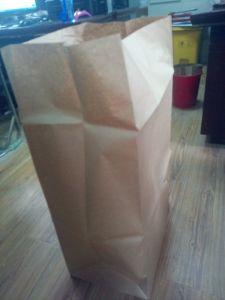 Eco-Friendly Leaf Trash Kraft Paper Bag pictures & photos